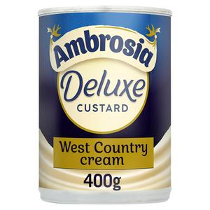 Ambrosia Deluxe Custard West Country Cream Can 400g