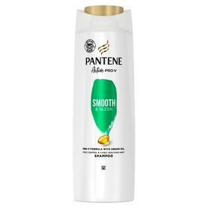 Pantene Pro-V Smooth & Sleek Shampoo, For Dull & Frizzy Hair, 360ml