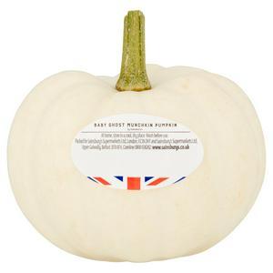 Sainsbury's Baby Ghost Munchkin Pumpkin