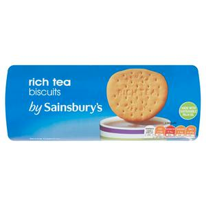 Sainsbury's Rich Tea Biscuits 200g